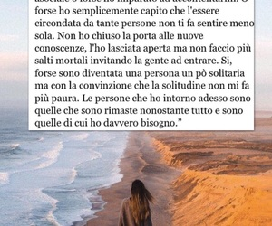 frasi, mare, and ragazze image