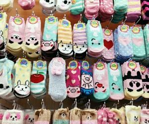 cute, socks, and kawaii image