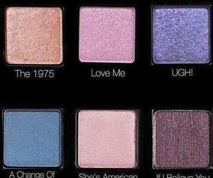 eyeshadow, grunge, and makeup image