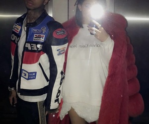 couple, kyliejenner, and love image