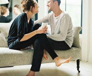 couple, romance, and girl image