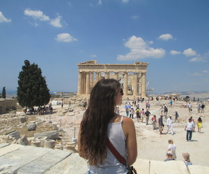 Athens, Greece, and partenon image