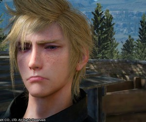 final fantasy xv and prompto argentum image