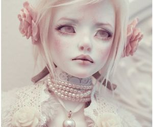 doll, bjd, and pink image