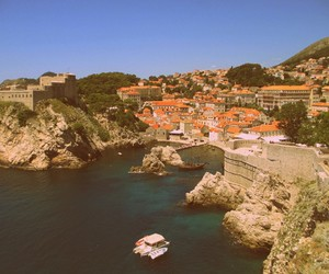 city, Croatia, and dubrovnik image