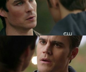 ian somerhalder, stefan salvatore, and damon salvatore image