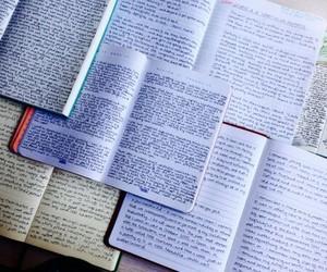 diary, writing, and diary books image