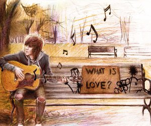 what is love, music, and boy image