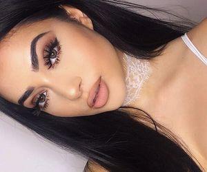 beauty, girls, and make-up image
