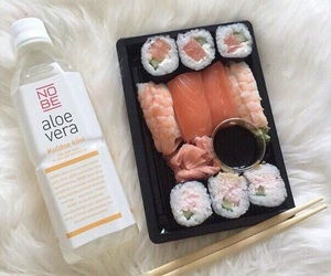 food, sushi, and asian image