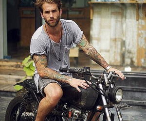 boy, tattoo, and andre hamann image