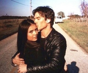 damon, delena, and thevampirediaries image