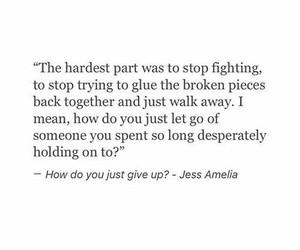 quotes, broken, and heartbreak image