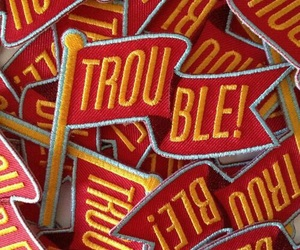 patches, red, and trouble image