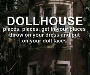 dollhouse, melanie martinez, and Lyrics image