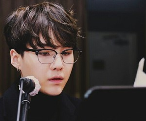 glasses and bts image