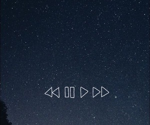 pause, play, and stars image