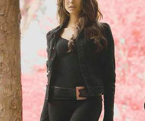 Nina Dobrev and katherine pierce image