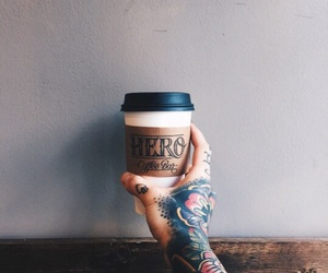 arm, hipster, and brew image
