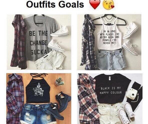outfit, chic, and clothes image