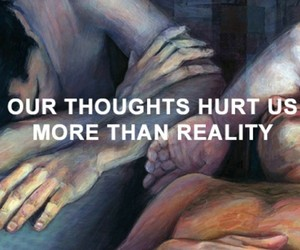 quotes, reality, and thoughts image