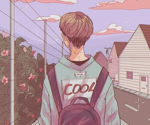 boy, pink, and cute image