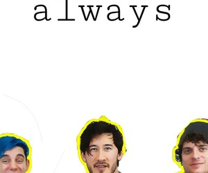 love, markiplier, and smileaways image