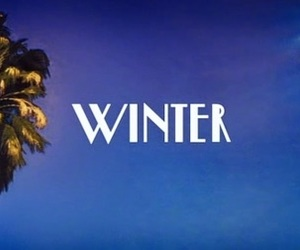 banner, cool, and winter image