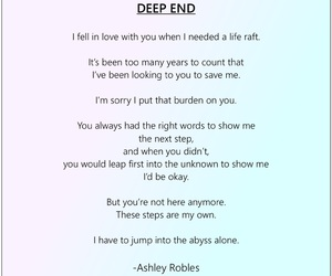 alone, lost love, and poem image