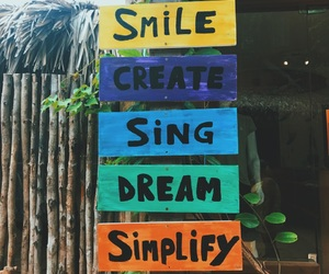 create, Dream, and sing image