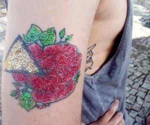 carnaval, tatuagem, and cor image