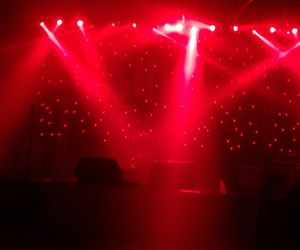 concert, lights, and red image
