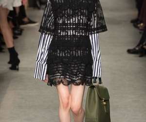 runway and Burberry image