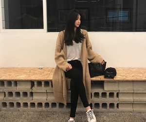 korean, aesthetic, and kfashion image