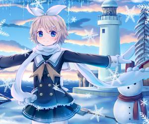anime, anime girl, and kagamine rin image
