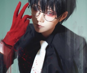 cosplay, black reaper, and tokyo ghoul image