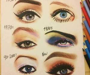 eyes, makeup, and art image