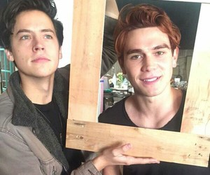 riverdale, cole sprouse, and boys image