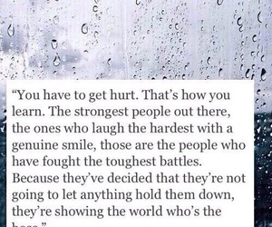 quotes, strong, and hurt image