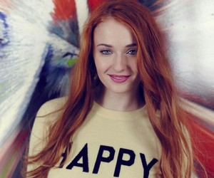 sophie turner, actress, and beautiful image