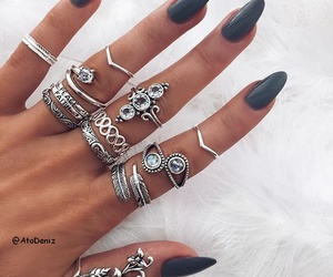 bohemian, boho, and nails image