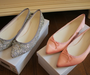 pink, pink shoes, and shoes image