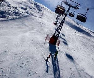 holidays, livigno, and ski image