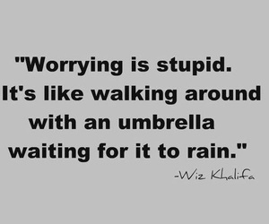 quotes, wiz khalifa, and rain image