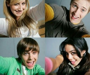 ashley tisdale, lucas grabeel, and high school musical image