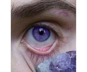 purple, eyes, and eye image