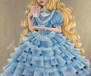 disney, art, and alice image