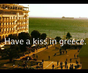 Greece, kiss, and quotes image