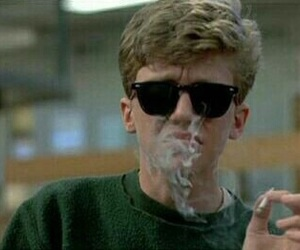 smoke, The Breakfast Club, and boy image