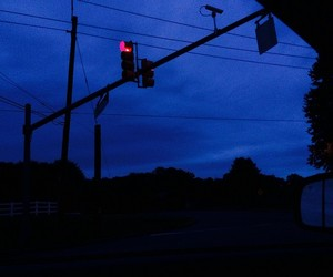 blue, tumblr, and dark image